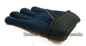 Men Fleece Gloves Wholesale - Dallas General Wholesale