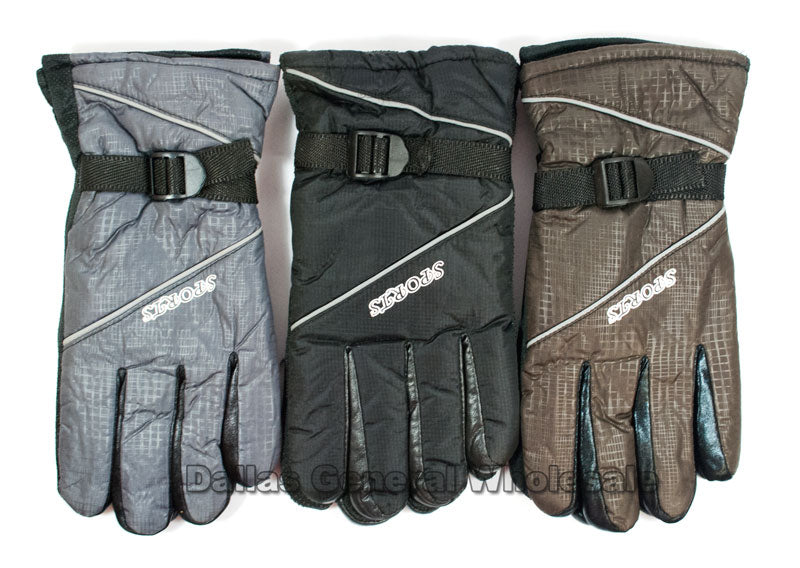 Men Heavy Insulated Gloves Wholesale - Dallas General Wholesale