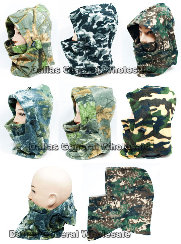 Camouflage Winter Balaclava Beanie Masks Wholesale - Dallas General Wholesale
