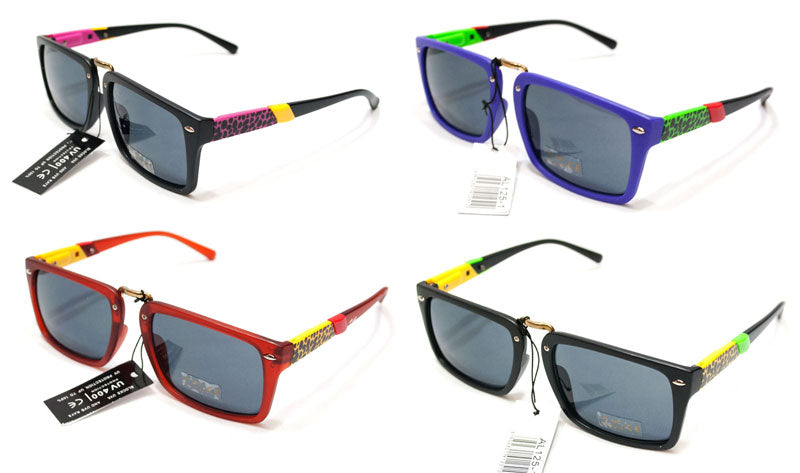 Men Square Lenses Style Sunshades Wholesale - Dallas General Wholesale