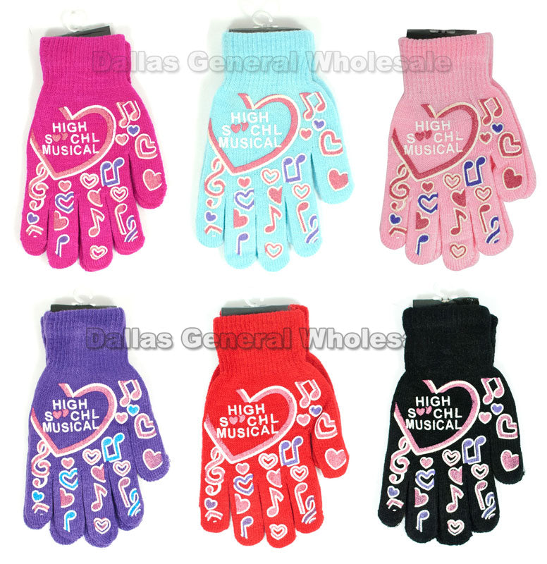 Young Girls Knitted Gloves Wholesale - Dallas General Wholesale