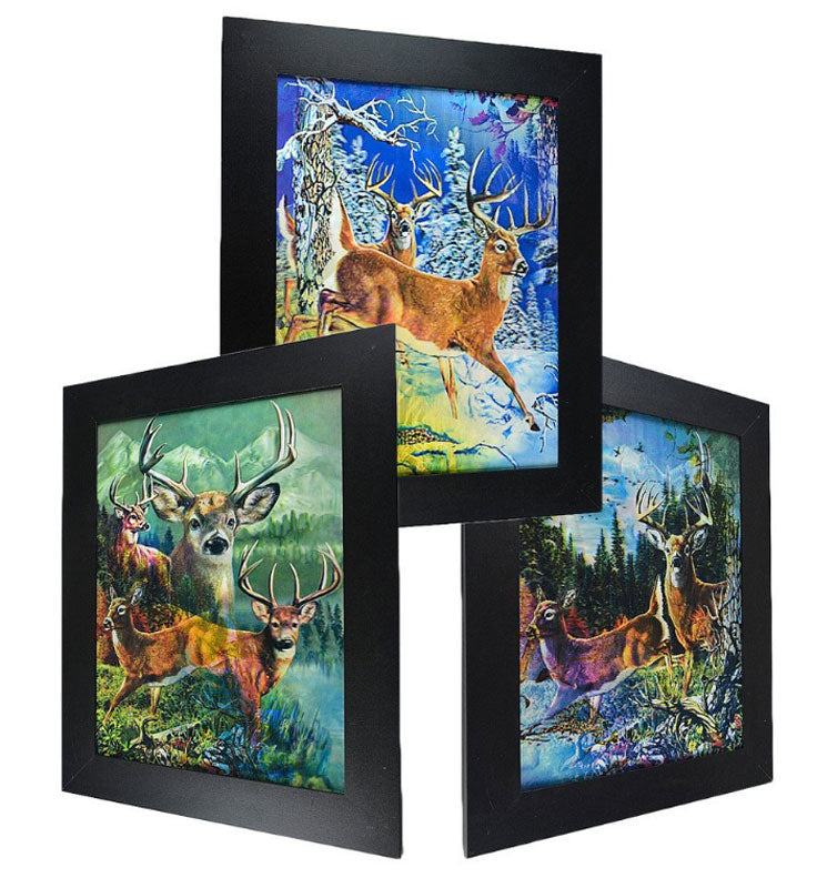 3D Picture Frame of Raindeer Wholesale - Dallas General Wholesale