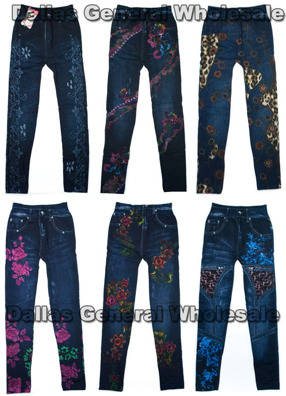 Girls Fleece Insulated Jeggings Wholesale - Dallas General Wholesale