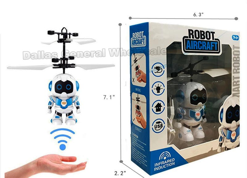 Hand Sensor Flying Robot Drones Wholesale - Dallas General Wholesale