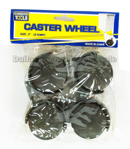 Set of 4 Caster Wheels Wholesale - Dallas General Wholesale