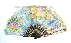 Summer Hand Held Folding Fans Wholesale - Dallas General Wholesale