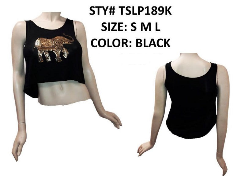 Elephant Crop Tops Wholesale - Dallas General Wholesale