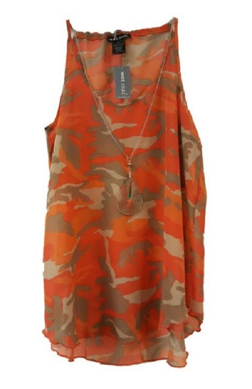 Girls Causal Camouflage Blouses Wholesale - Dallas General Wholesale