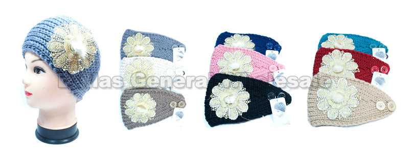 Extra Wide Flower Head Bands Wholesale - Dallas General Wholesale