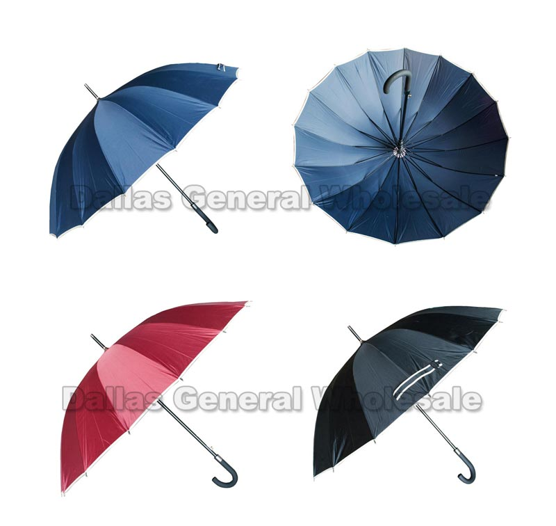 16 Rib Jumbo Umbrellas Wholesale