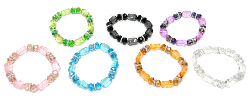 Girls Fashion Crystal Beads Bracelet Wholesale - Dallas General Wholesale