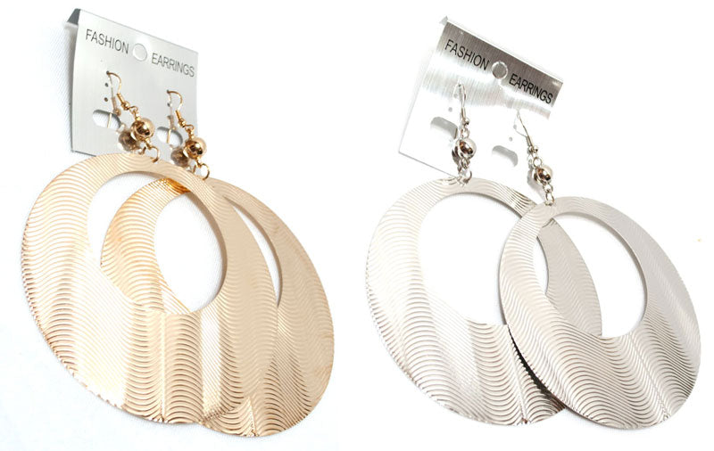 Big Round Hoops Earrings Wholesale - Dallas General Wholesale