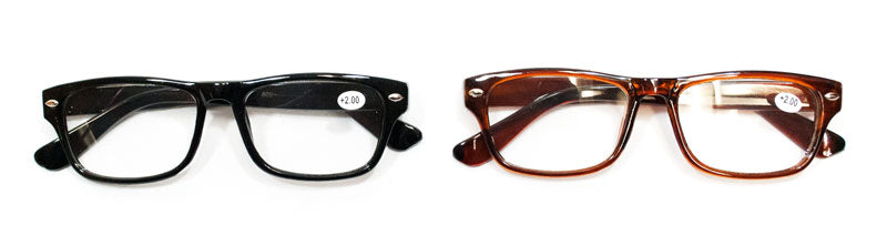 Plastic Frame Reading Glasses - Dallas General Wholesale