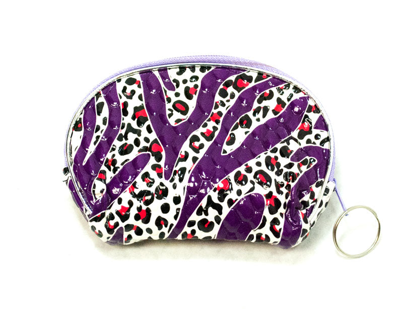 Animal Print Coin Purse - Dallas General Wholesale