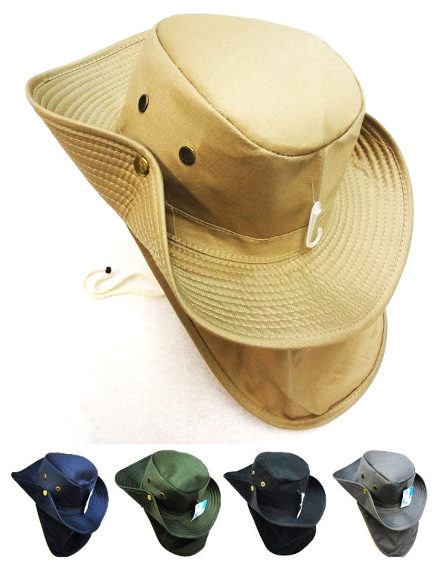 Solid Color Bonnie Hats with Flap Wholesale - Dallas General Wholesale