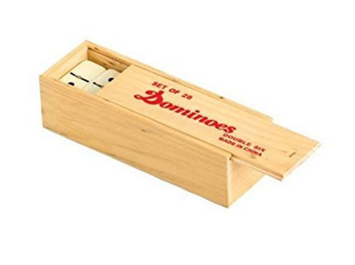 Dominoes with Wood Box Wholesale - Dallas General Wholesale