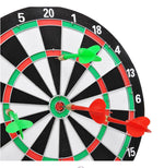 16 Inches Double Sided Dartboard - Dallas General Wholesale