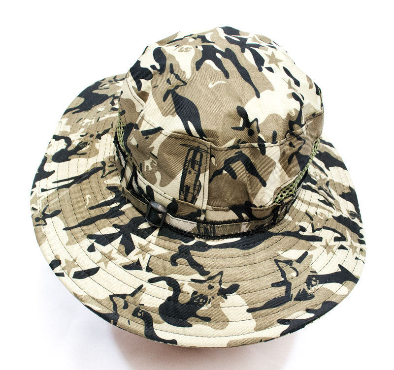 Camouflaged Men's Bucket Hats Wholesale - Dallas General Wholesale