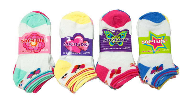 Little Girls No Show Socks - Dallas General Wholesale