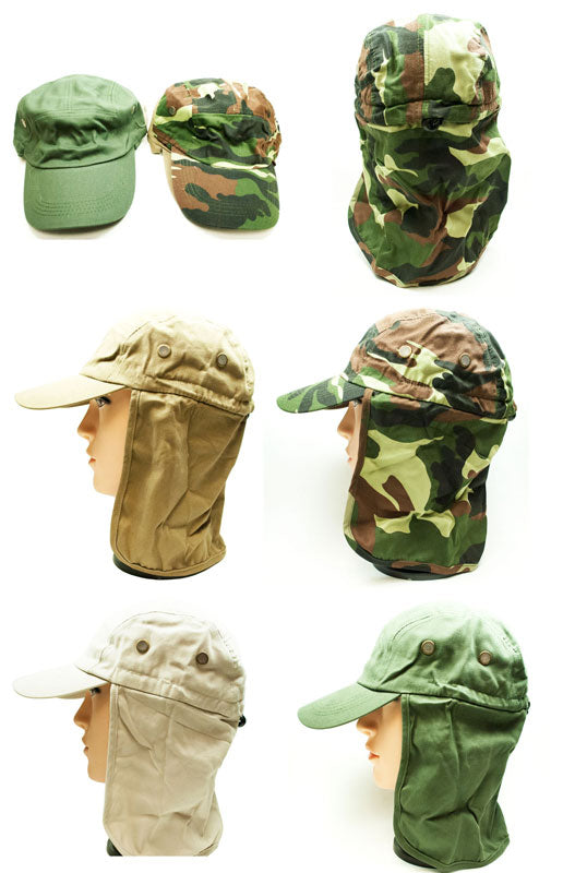 Caps with Neck Cover Protection Wholesale - Dallas General Wholesale