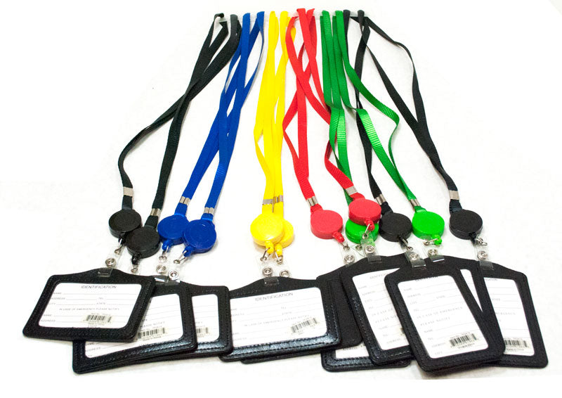 ID Holder with Lanyard - Dallas General Wholesale
