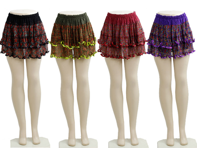 Silk Short Skirt - Dallas General Wholesale