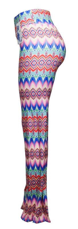 Comfortable Printed Palazzo Pants - Dallas General Wholesale