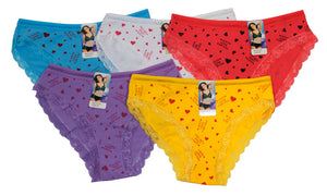 Girls Cotton Bikini Style Underwear - Dallas General Wholesale