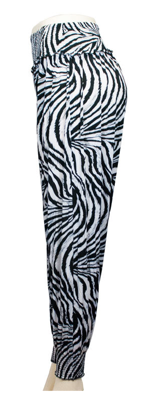 Printed Summer Silky Jogger Pants - Dallas General Wholesale