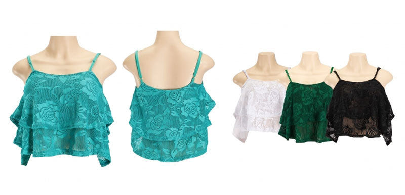 Lace Crop Tops Wholesale - Dallas General Wholesale