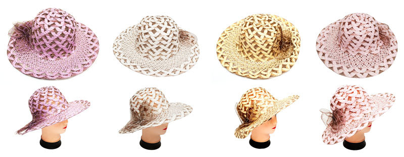 Women's Straw Beach Hats Wholesale - Dallas General Wholesale