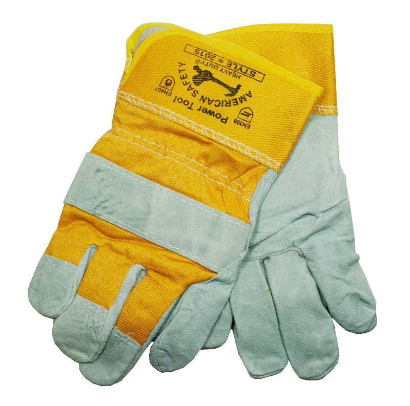 Leather Work Gloves - Dallas General Wholesale