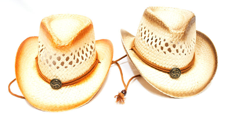 Little Kids Straw Cowboy Hats - Dallas General Wholesale