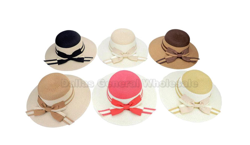 Ladies Foldable Straw Hats Wholesale - Dallas General Wholesale