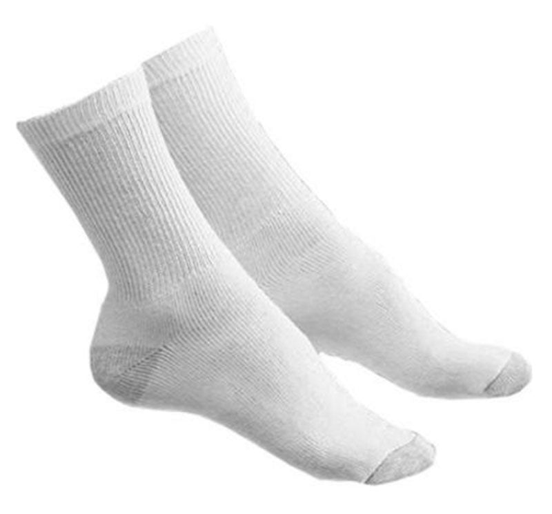 Men 2 Color Tone Crew Socks - Dallas General Wholesale