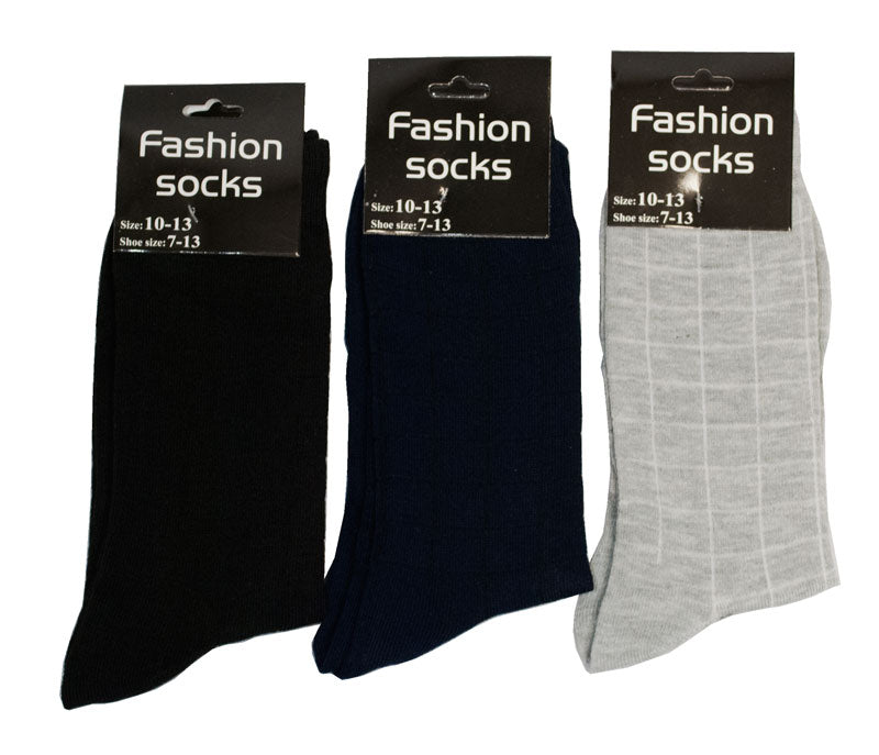 Men Fashion Dress Socks Size 10-13 - Dallas General Wholesale