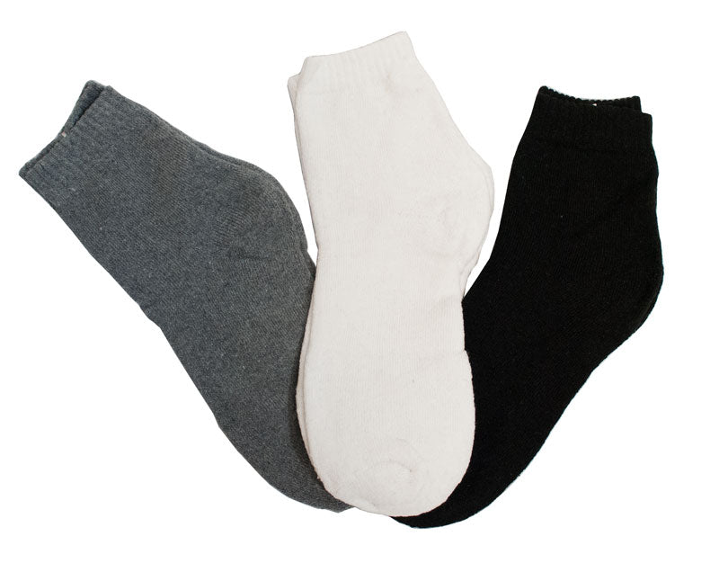 Men Solid Color Ankle Socks Wholesale - Dallas General Wholesale