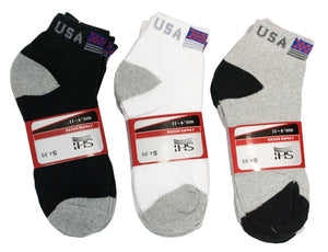 Mens Casual Ankle Socks USA - Dallas General Wholesale