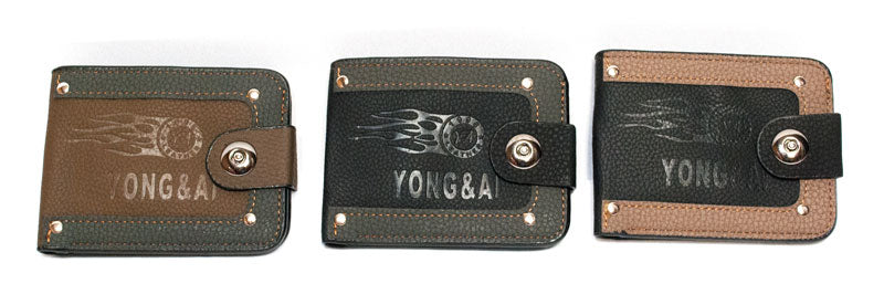 Men's Leather Wallets - Dallas General Wholesale