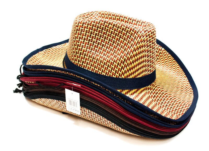 Unisex Summer Vented Cowboy Hats - Dallas General Wholesale