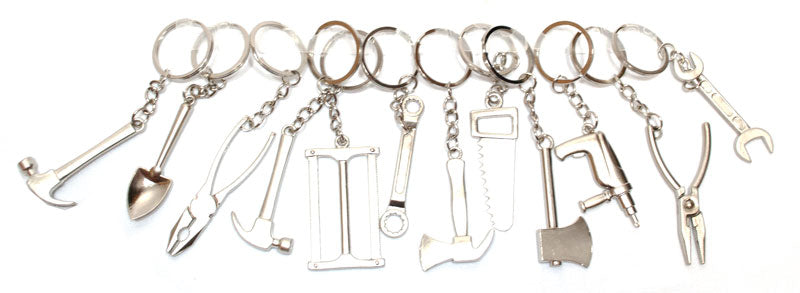 Miniature Tools Key Chains - Dallas General Wholesale