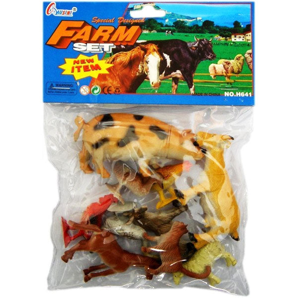 Farm Animal Figure Set - Dallas General Wholesale
