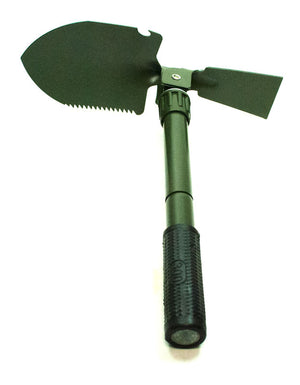 Foldable Shovel with wide Snow Blade and Compass - Dallas General Wholesale