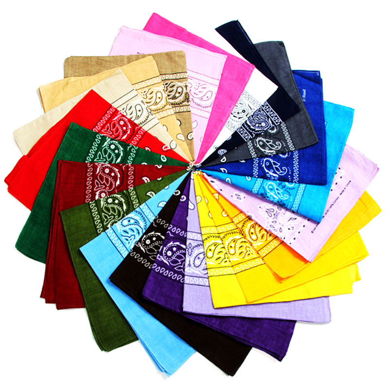 Paisley Print Bandannas Wholesale - Dallas General Wholesale