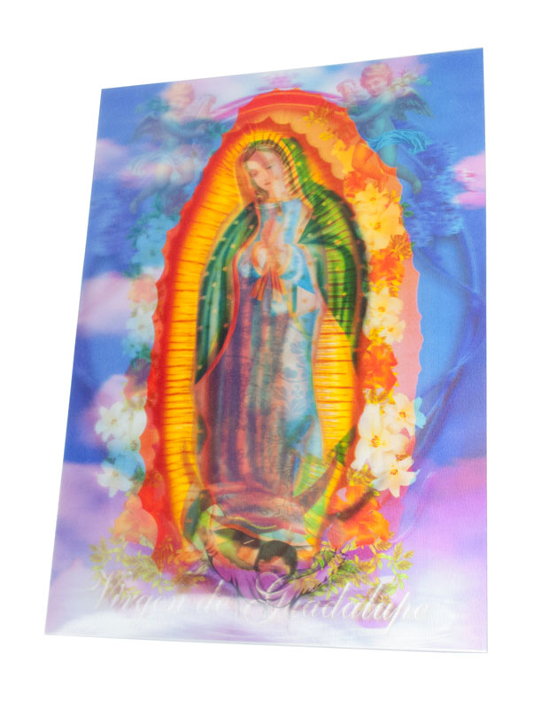 3D Picture - Vigen De Guadalupe - Dallas General Wholesale