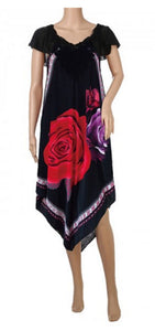 Irregular Cut Maxi Dress SF59 - Dallas General Wholesale