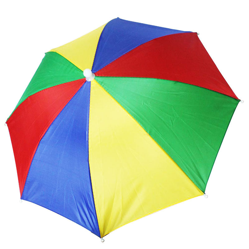 Rainbow Color Umbrella Hats Wholesale - Dallas General Wholesale