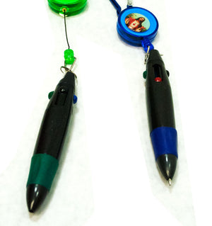Religion Key Chain With Pen - Dallas General Wholesale
