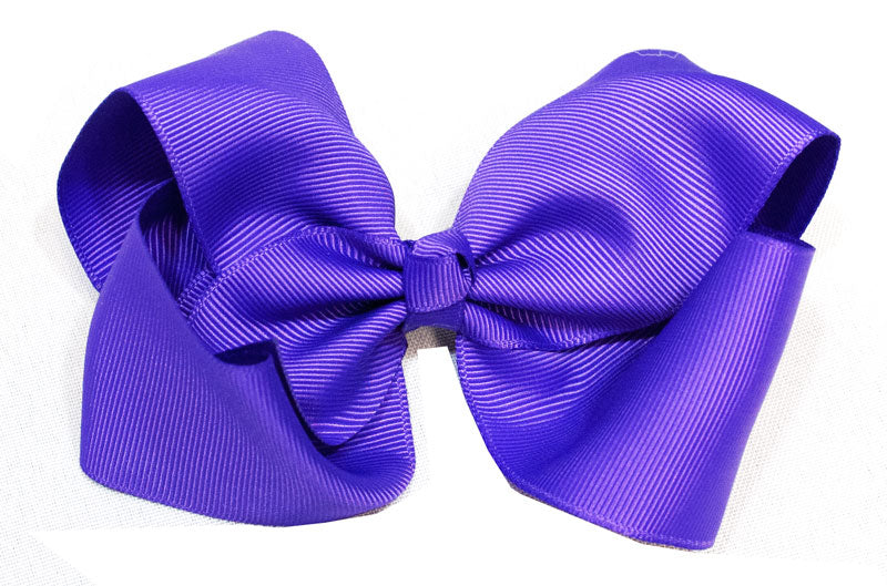 All Purple Hair Bows - Dallas General Wholesale