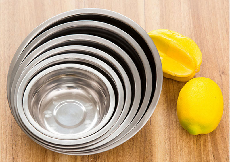 Stainless Steel Bowls - Dallas General Wholesale